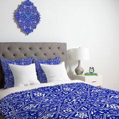 Amirah Blue Duvet Cover