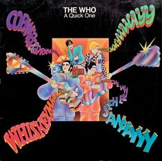 The Who's second album, A Quick One, 1966.