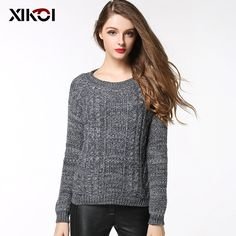 O-Neck Women's Sweaters Clothes Winter Pullovers Fashion Ladies Tops $28.31   => Save up to 60% and Free Shipping => Order Now! #fashion #woman #shop #diy  http://www.clothesworld.net/product/o-neck-womens-sweaters-clothes-winter-pullovers-fashion-ladies-tops