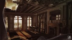 New interiors from Forgive Me #indiegames #videogames #gamesinitaly