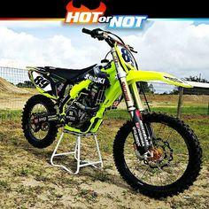 Hot or Not? Suzuki Rmz450 by @djtroycollier #hotornotmx #motocross #rmz450 #suzuki #dirtbike #dirtbikes #mxgp #supercross