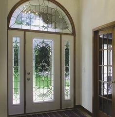 We Can Turn Your Existing Door Into A Work Of Art In Just Hours Using One  Of Our Many Decorative Glass Panel Door Inserts For A Fraction Of The Cost  Of A ...