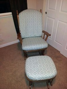 Easy way to change furniture fabric