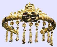 Jeweled Gold Diadem, Black Sea, Circa 150 BC