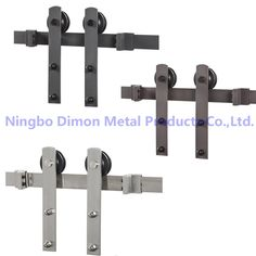36.00$  Watch here - http://ali6c3.shopchina.info/go.php?t=32791163453 - Dimon customized sliding door hardware with damper kits wood door hardware DM-SDU 7207 with soft close (without sliding track)  #aliexpress