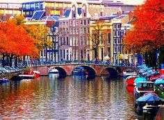 Amsterdam! Crazy place-so international-best food!