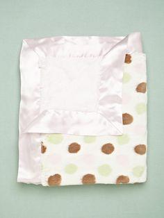 Luxe Spotted Blanket by Little Giraffe on Gilt
