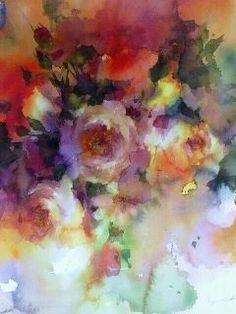 Wyn Vogel works on large format canvas, paper or silk with pencil, pastel, watercolor and acrylic and oil glazes combined with digital collage.