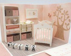 825 Explosion Box Baby - Finance tips, saving money, budgeting planner Memories Box, Baby Room Furniture, Barbie Furniture, Boite Explosive, Birthday Explosion Box, Explosion Box Tutorial, Exploding Box Card, Baby Invitations, Shower Invitations