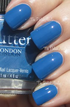 Butter London - Blagger swatched $11