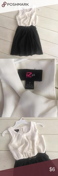 Girls concert recital dress In excellent condition!  Perfect for band, choir, strings concerts when you need to wear white and black!  Only worn twice! Dresses