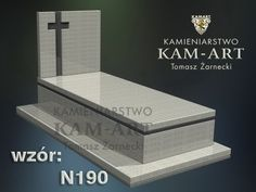 WZORY NAGROBKÓW - Kamieniarstwo KAM-ART Tomasz Żarnecki Cemetery Monuments, Decorative Boxes, Crosses, Quotes, Design, Graveyards, How To Build, Quotations