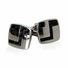 Edgy Dark Carbon Fiber Stainless Steel Cufflinks with Artistic Design by Cuff-Daddy Cuff-Daddy. $22.99. Arrives in hard-sided, presentation box suitable for gifting.. Made by Cuff-Daddy. Save 77% Off!