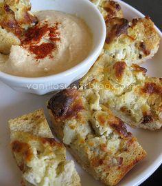 artichoke bread with hummus  4 4-8-2009 3-28-32 PM 1200x1600 by Vanilla Sugar Blog, via Flickr
