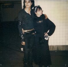 Michael Jackson with Rita Ryack(costume designer).