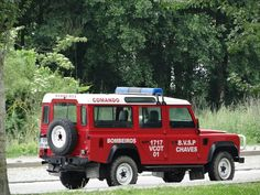 Land Rover Defender 110 Td5- Fire Service-Chaves (Portugal)