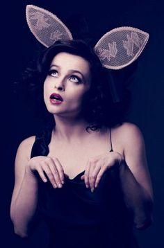 Helena Bonham Carter - what a character girl crush