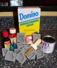 Melt-in-your-mouth buttermints: 1 box powedered sugar, 3/4 stick margarine, melted, 2-3 Tb. evap. milk, 8-9drops peppermint OIL, food coloring.from http://www.pensieve.me/2007/22/recipe-round--1.html