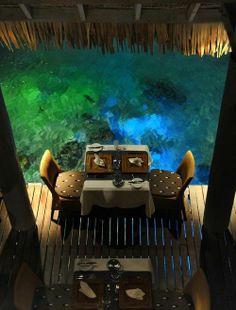 Le Meridien Bora Bora - Dinner every night here...