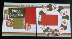 Beary Christmas layout CTMH