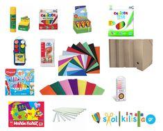 Σχολική Λίστα Νηπίου Glue Sticks, Nintendo 64, Logos, Art, Art Background, Logo, Kunst, Performing Arts, Art Education Resources