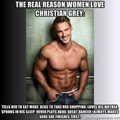The real reason we love Christian Grey