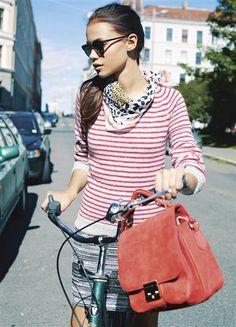 1316 DIY: Modell 7 Stripete genser med raglanfelling #strikk