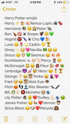 Harry Potter emojis