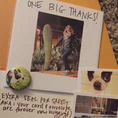 Heading to Sacramento, CA! Thanks for buying our thanks card of weirdness