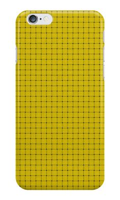 Electric Yellow Plaid by MidModStyle