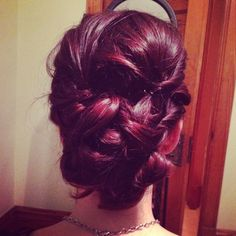 Beautiful bun by Laura Reber