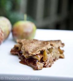 of the Best Clean Eating Thanksgiving Recipes Clean Eating Apple Pie RecipeClean Eating Apple Pie Recipe Clean Eating Sweets, Clean Eating Menu, Apple Pie Recipes, Whole Food Recipes, Healthy Recipes, Healthy Desserts, Healthy Food, Free Recipes, Apple Pie Oatmeal