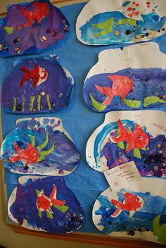 Week 2: the Little Red Fish by zenia, via Flickr