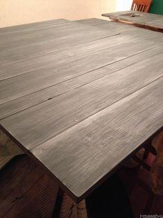 Restoration Hardware finish | matte varnish over annie sloan chalk paint restoration hardware finish