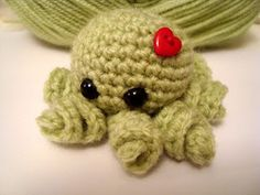 Free crochet pattern : octopus