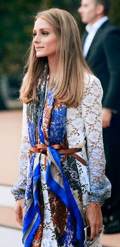 Yours Truly, Tahlia: Style Steal - Olivia Palermo I like this idea but I might be too big for it.