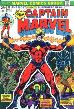 This is number 8 of 12 Captain Marvel issues with Starlin art and/or covers.