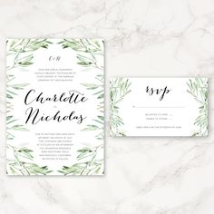 "This listing is for a PRINTABLE 5""x7"" invitation and a 5""x3"" RSVP card. You will receive a digital copy in the form of a PDF or JPEG to be printed at"