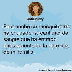Un mosquito de mi familia | Memes hispanos | Pinterest