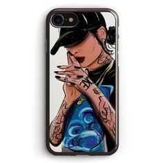 Lil  Lay Low  kehlani Collection Apple iPhone 7 Case Cover ISVE067