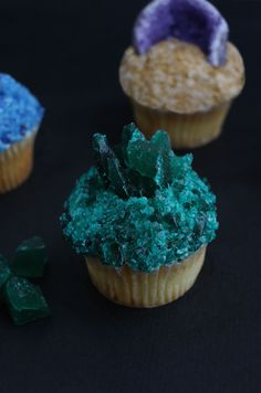 Mineral cupcakes