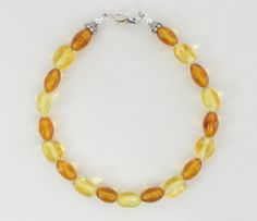 Amber Silver Bracelet Designs by tickets_07 @eBay