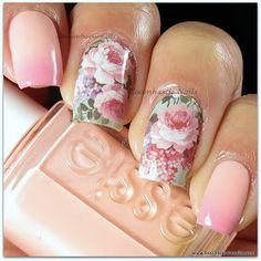 Hello :) Today I have some water decals to show you from Miki Nails which I bought from Amazon  a while ago. These are made of real nail p...