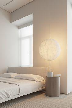 yp1h on Behance Minimalist Interior, Minimalist Architecture, Interior Architecture, Gray Interior, Interior Modern, Exotic Bedrooms, Natural Bedroom, Room Corner, Interior Design Services