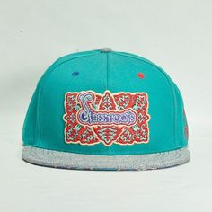 Glassroots 2014 Cyan Fitted #cf-size-7 #cf-size-8 #cf-size-8-1-4