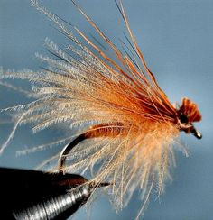 The art of imitation: October Caddis Dry~Smokey Mtn. Fly Guide