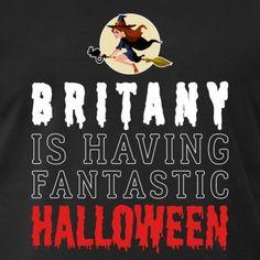 Britany Is Having Fantastic Halloween - Men's Premium T-Shirt Halloween Men, Halloween 2018, Usa Holidays, Trick Or Treat, Fancy, Celebrities, T Shirt, Supreme T Shirt, Celebs