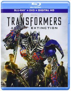Amazon.com: Transformers: Age of Extinction (Blu-ray + DVD + Digital HD): Mark Wahlberg, Nicola Peltz, Michael Bay: Movies & TV