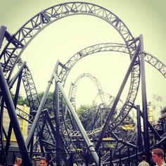 The smiler at Alton towers #rollercoster #fun Off my Instagram! Follow me issyyy101