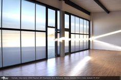 Vista Interior de CENDI Rayenari. ZETArquitectos. Danpalon 16mm Fachada traslúcida. Iluminación led, luz en la arquitectura, Arquitectura traslúcida Danpalon arquitectura de luz, láminas, plásticos, policarbonato, revestimientos revestimientos plásticos